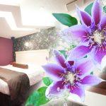 カップルズラブホテルグレイス206号室 クレマチス
